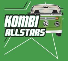 Volkswagen Kombi Tee Shirt - Kombi Allstars Green by KombiNation
