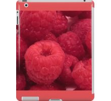 Delicious Red Raspberries iPad Case/Skin