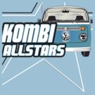 Volkswagen Kombi Tee Shirt - Kombi Allstars Light Blue by KombiNation