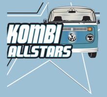 Volkswagen Kombi Tee Shirt - Kombi Allstars Light Blue by KombiNation