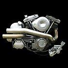 Harley Davidson Shovelhead by Gordon Calder