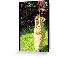 Fire Fighter's Britches Greeting Card