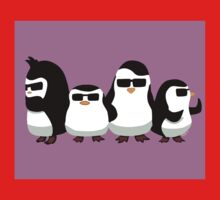 Penguins of Madagascar Baby Tee