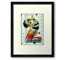 Super Number 2 Framed Print