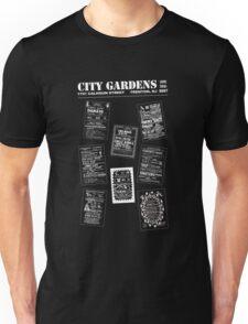 City Gardens - Punk Card Tee Shirt (v. 3.1) Unisex T-Shirt