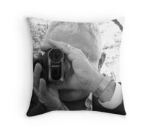 Wedding videographer Throw Pillow