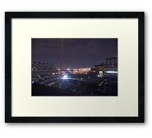 Shea Stadium Demolition Framed Print