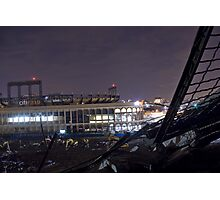 Citi Field viewed from the half Demolished Shea Stadium Photographic Print