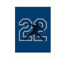 22 - Clayton Kershaw Art Print