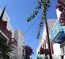 Lost in Mykonos Town by dianaparaan