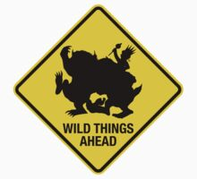 Wild Things Ahead Kids Clothes