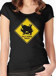 Wild Things Ahead Women's Fitted Scoop T-Shirt