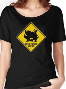 Wild Things Ahead Women's Relaxed Fit T-Shirt