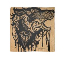 Oil Lace Wolf Scarf