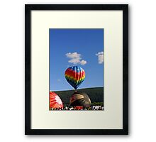 Balloon Fest! Framed Print