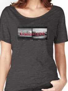 Double Industrial  Women's Relaxed Fit T-Shirt