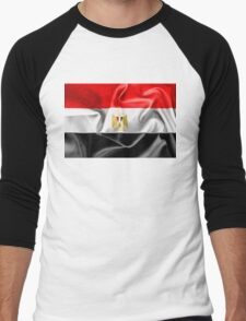 Egypt Flag Men's Baseball ¾ T-Shirt