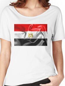 Egypt Flag Women's Relaxed Fit T-Shirt
