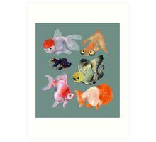 Fishies Art Print