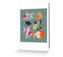 Fishies Greeting Card