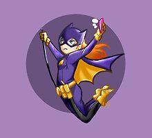 Batgirl of Burnside: Selfie by tmkaleidoscope