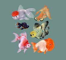 Fishies by Melora Mylin