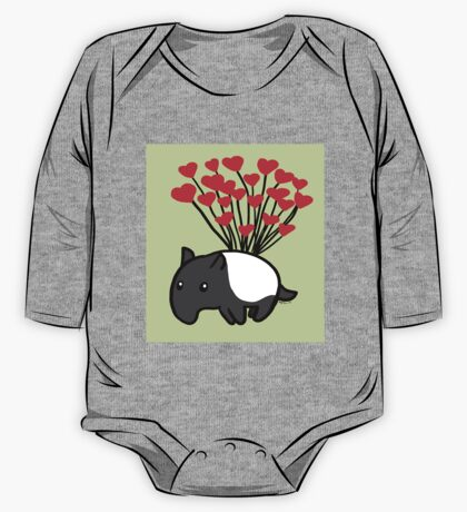 Tapir Love One Piece - Long Sleeve