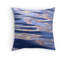 Purple Silk Throw Pillow