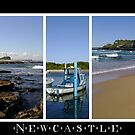Newcastle - Coastal Montage by reflector