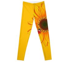 Sunflower Ladybugs Leggings