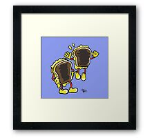 Grilled Cheese Mania Framed Print