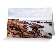 Gannet Rock - Meelup Beach, Dunsborough  Greeting Card
