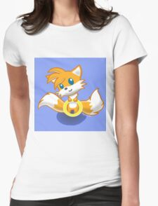 Tails Ring Womens Fitted T-Shirt