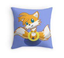 Tails Ring Throw Pillow