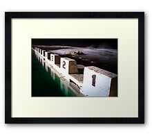 Ocean Baths Framed Print