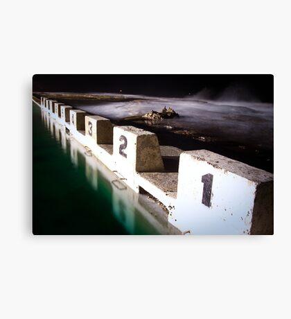 Ocean Baths Canvas Print