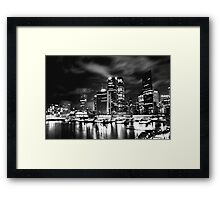 Gotham Sydney Framed Print