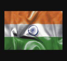 India Flag One Piece - Short Sleeve