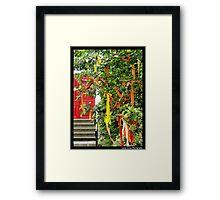 Ribbon Tree Framed Print