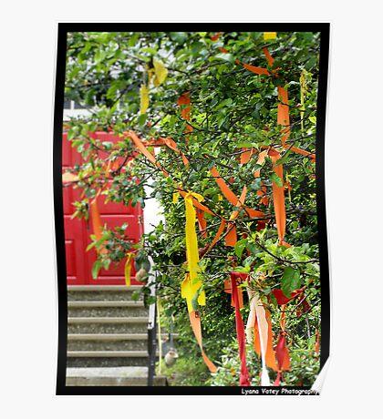 Ribbon Tree Poster
