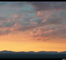 Gouldsboro Mountains Sunrise by Lyana Votey