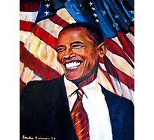 Yes We Can,Barak Obama  Photographic Print
