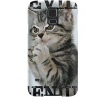 Evil Genius - The Cat Samsung Galaxy Case/Skin