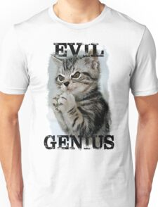 Evil Genius - The Cat Unisex T-Shirt