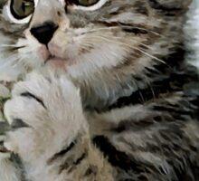 Evil Genius - The Cat Sticker
