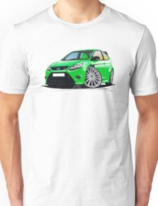 Ford Focus RS (Mk2) Green Unisex T-Shirt