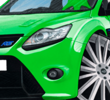Ford Focus RS (Mk2) Green Sticker