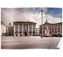 Piazza Duomo, Catania Poster