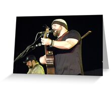 Zac Brown Band Greeting Card
