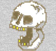 8-Bit Yelling Skull. T-Shirt